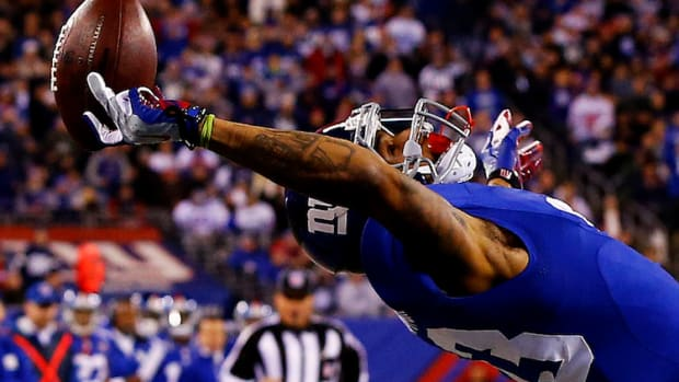 odell beckham jr catch one hand giants cowboys