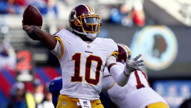 Robert Griffin III to start against Eagles IMAGE