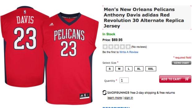 new pelicans alternate jersey