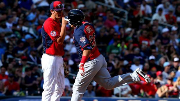 Javier Baez hits a Futures Game home run