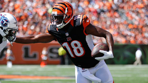 aj green bengals injury out vs panthers