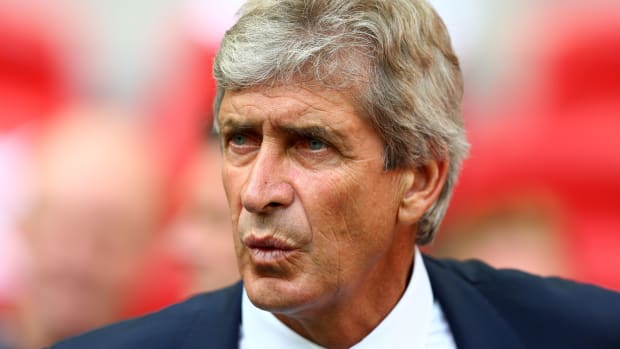 Manchester City manager Manuel Pellegrini English players Community Shield
