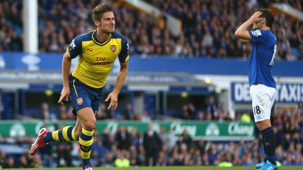 Olivier Giroud Arsenal Everton