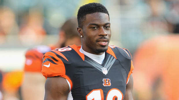 aj green bengals injury status misses practice