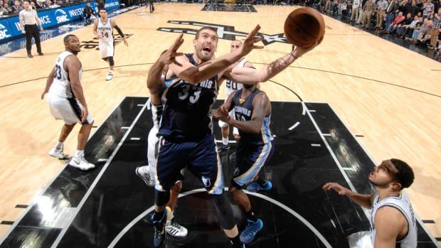Marc Gasol Grizzlies Spurs 960