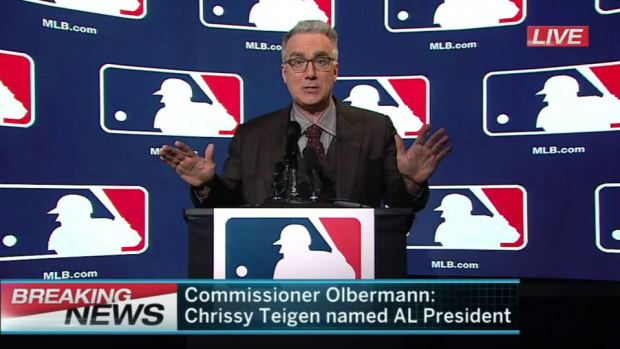 Keith Olbermann as new MLB commissioner