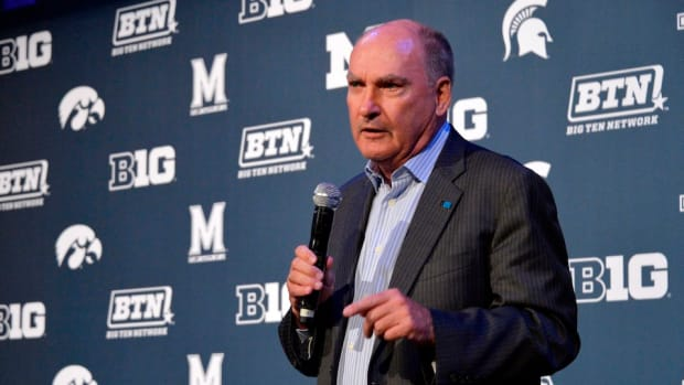 Jim Delany says power five schools won't receive more scholarships