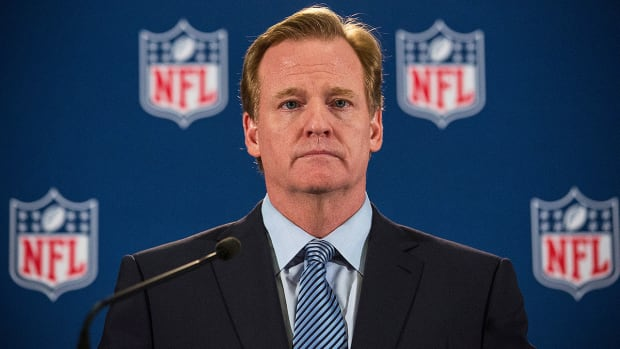 What does Ray Rice's lawyers want Roger Goodell to say in testimony? -Image