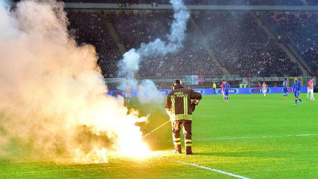 italy croatia euro 2016 flares field