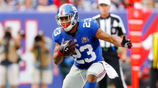 new york giants rashad jennings injury return