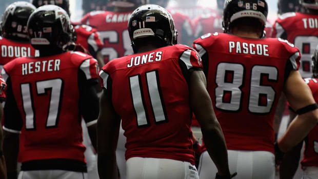 Falcons' Julio Jones says his ankle is 100% healthy IMAGE