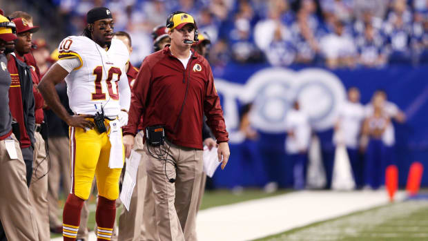 Will Dan Snyder stick with RGIII over Jay Gruden? - Image