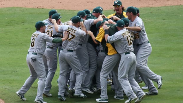 How far can banged up A's go in postseason?