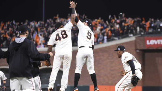 How Giants make it to the World Series