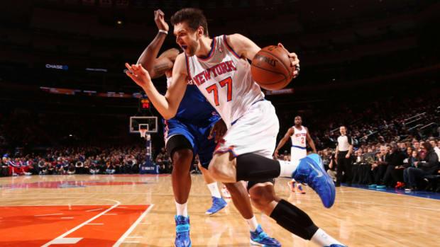 Knicks F/C Andrea Bargnani