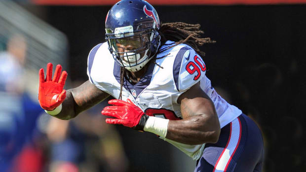 Houston Texans Jadeveon Clowney knee injury