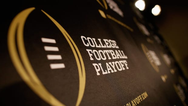 Which team has the toughest road to the college football Final Four?