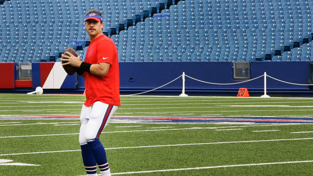 Buffalo Bills Kyle Orton start quarterback