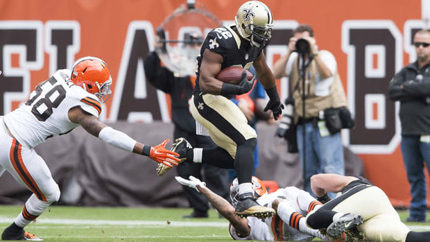 Saints RBs Khiry Robinson and Pierre Thomas out against 49ers