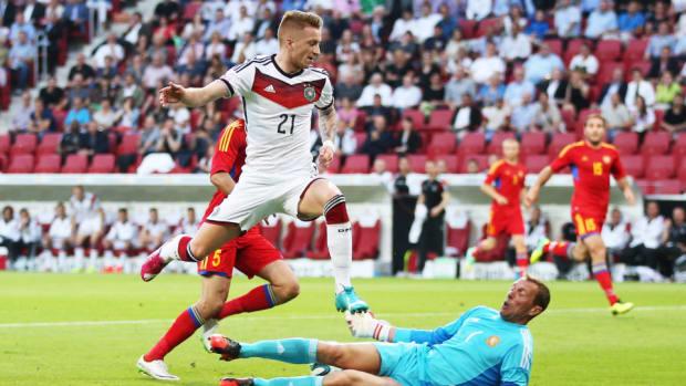 Borussia Dortmund midfielder Marco Reus