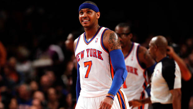 carmelo anthony free agent new york knicks return