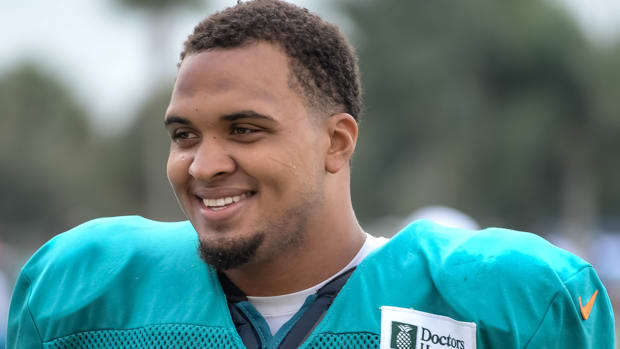 mike pouncey miami dolphins pup list training camp