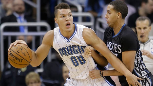 Orlando Magic rookie Aaron Gordon out indefinitely with broken bone in foot IMAGE