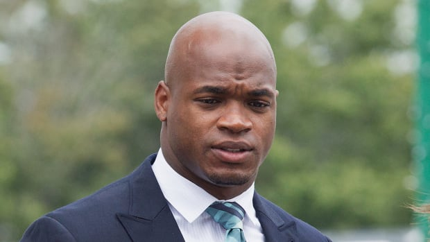 Adrian Peterson says he 'won't ever use a switch again' IMAGE