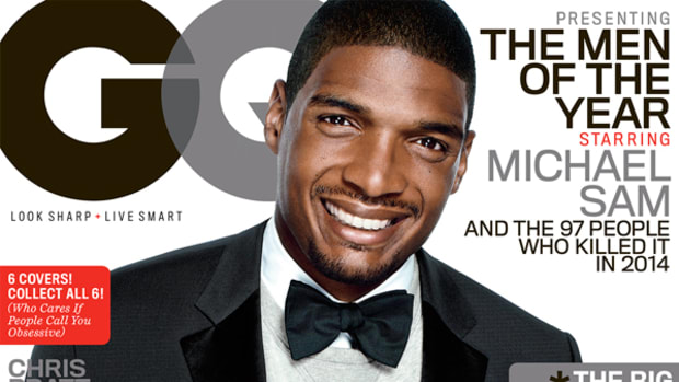 Michael Sam GQ Cover issue