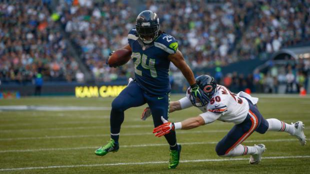 Seahawks running back Marshawn Lynch healthy