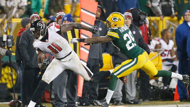 Julio Jones injures hip, breaks Falcons receiving record