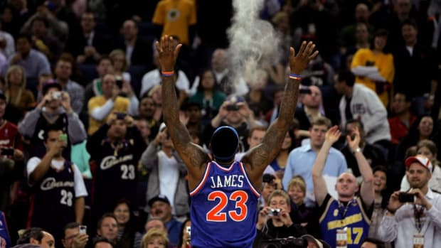 LeBron James will do the Chalk Toss in cleveland