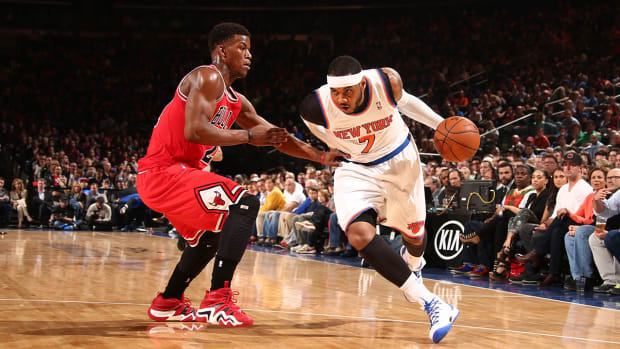 Carmelo Anthony doesn't expect to win scoring title this season - image