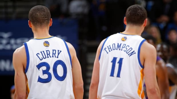 Klay Thompson told fans at a chipotle that he was Stephen Curry
