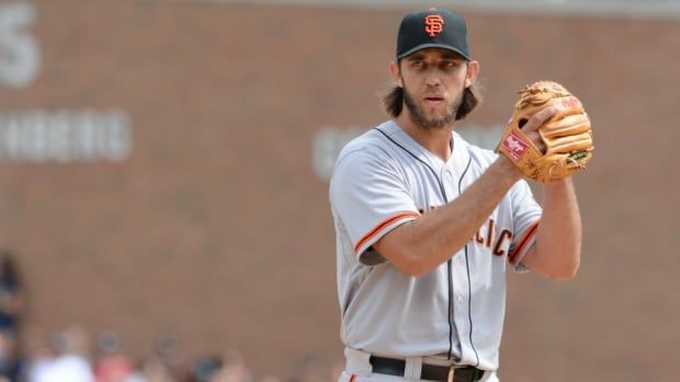 Giants tease Madison Bumgarner with hilarious impressions