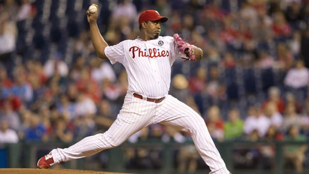 jerome williams phillies one year deal