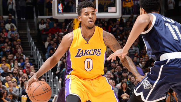 Nick Young Lakers Thunder 960