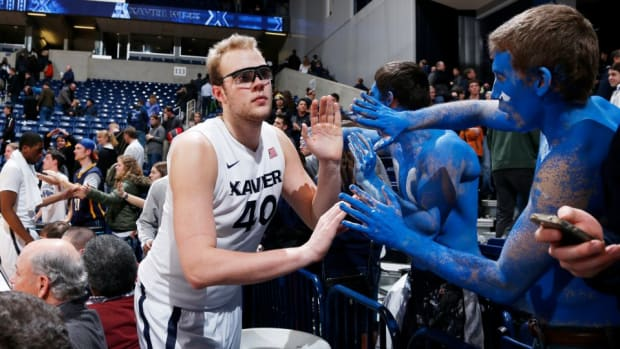 Xavier C matt Stainbrook gave his scholarship to his brother and became an Uber driver