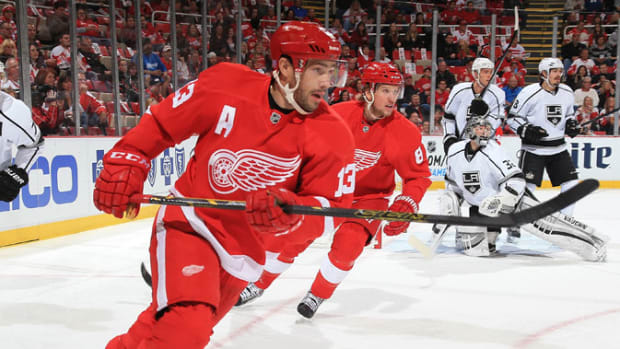Pavel Datsyuk Detroit Red Wings 2014