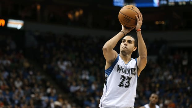Timberwolves guard Kevin Martin gets warning from league for flopping