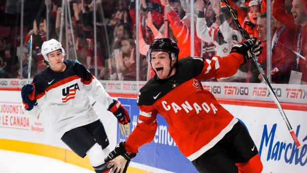 Canada vs. USA World Juniors