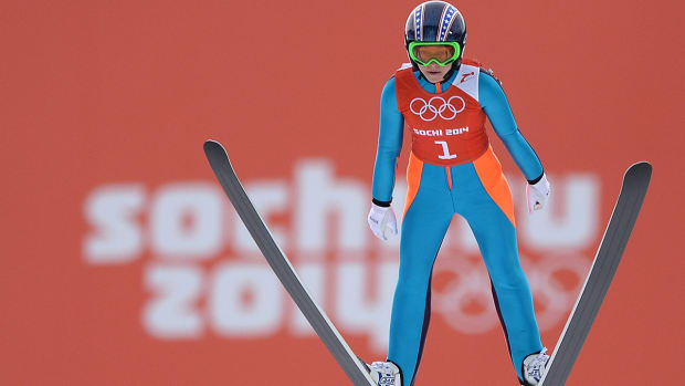 Sarah Hendrickson on pioneering Olympic ski jumping  - Image