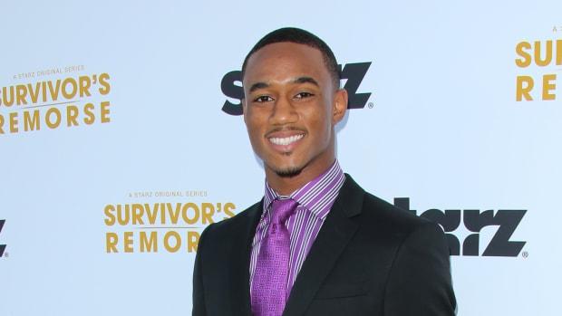 Jessie T. Usher getting jacked for 'Survivor's Remorse'