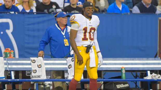 Gruden: Robert Griffin III will start Sunday if McCoy can't play IMAGE