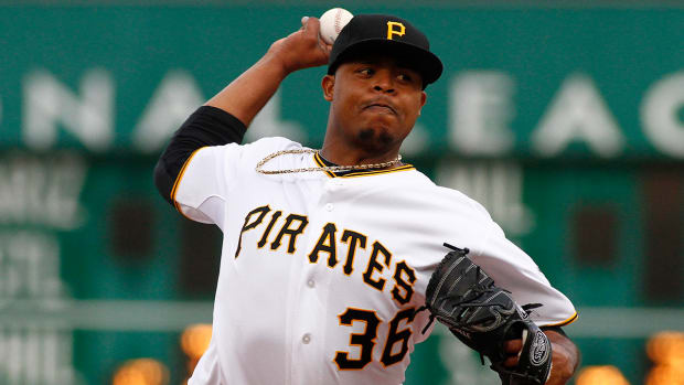 Reports: Royals, Edinson Volquez agree to two-year contract IMAGE