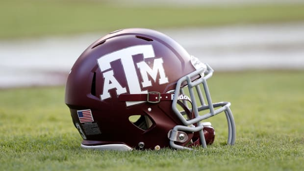 Texas A&M helmet