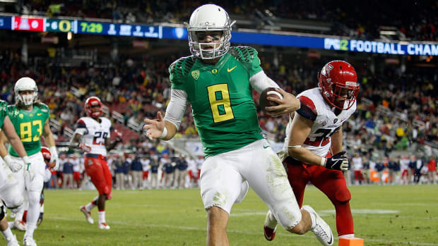 What Marcus Mariota winning the Heisman would mean for Oregon  - Image