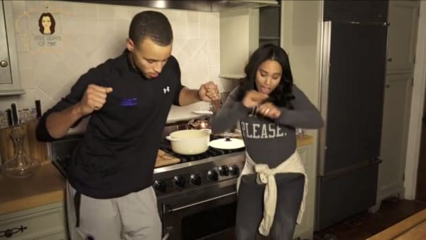 """Steph Curry and wife Ayesha remix Drake's """"0 to 100"""""""