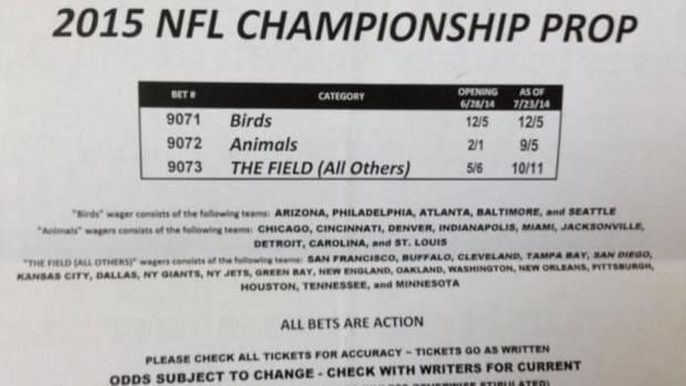 NFL Super Bowl Prop bet divides team by nickname