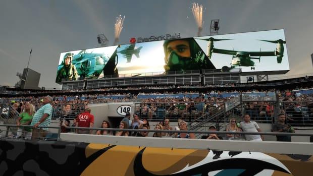 Jaguars scoreboard